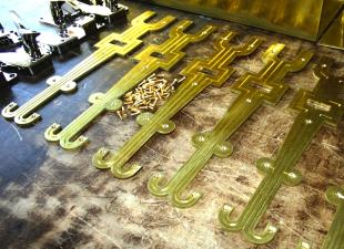 cabinet strap hinges