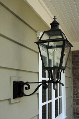 custom exterior lighting