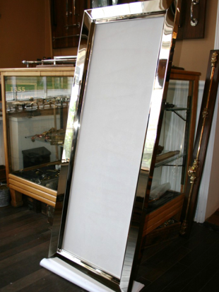 polished mirror frame